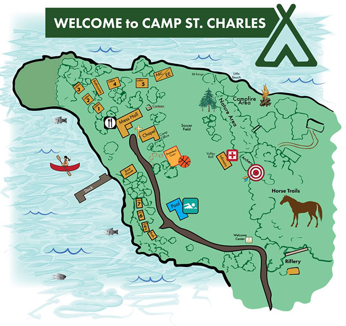 Camp Map.